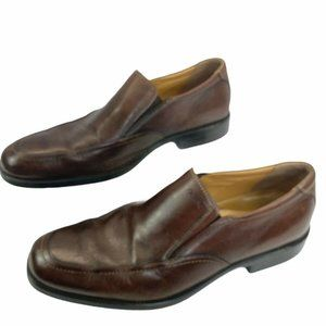 Geox Federico Mens Brown Leather Loafer Size 11/44